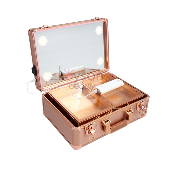 Cosmetic Makeup Case With Lighted